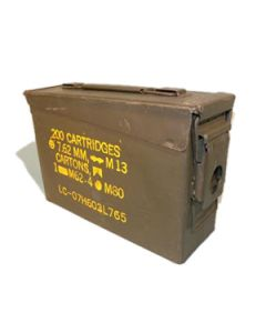 Used .30 Cal GI Ammo Can