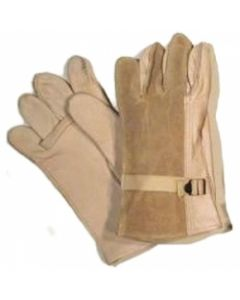 D3A Leather Gloves (Tan)