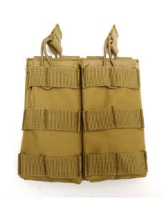Tactical MOLLE Rapid Reload Double Mag Pouch