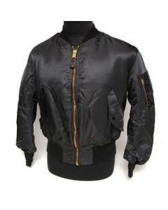 MA-1 Jacket - U.S. Made (Black)