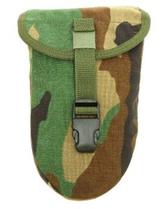 10 Pack of MOLLE E-Tool Shovel Covers (Woodland)