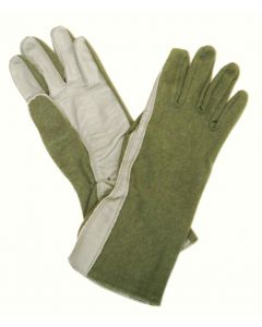 5 Pack of Nomex Flyer's Gloves Sage Green Size 11