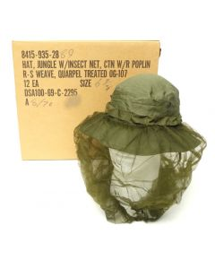 12 Pack of Vietnam Boonie Hats with Insect Net