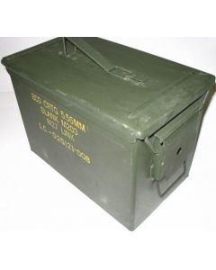 FAT .50 CAL AMMO CAN USED GI