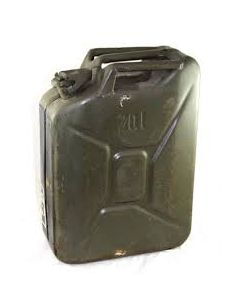 Used OD Nato 5 Gallon Jerry Can