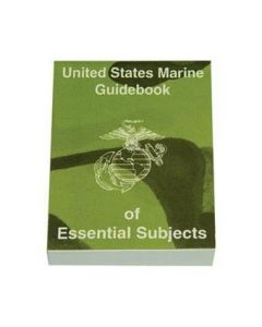 United States Marine Guidebook of Essential Subjects Manual