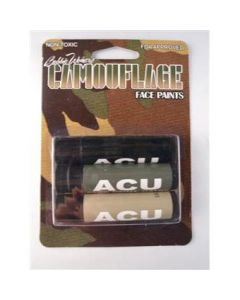 Acu Camouflage Face Paint Sticks