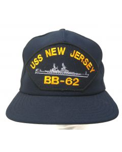 US Navy USS New Jersey Hat