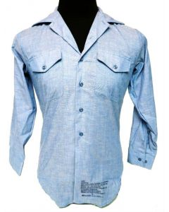 GI Navy Chambray Utility Shirt
