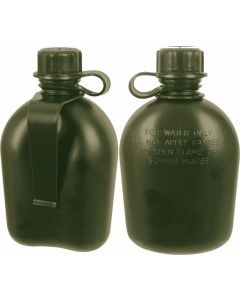 GI 1 Qt Canteen With Belt Clip