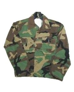 Kids 4-Pocket Camouflage Shirt
