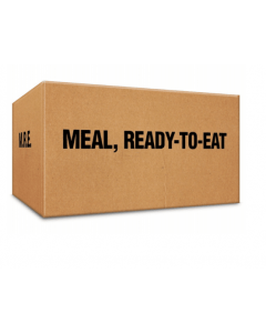 Case of 12 Military-Grade MRE Meals