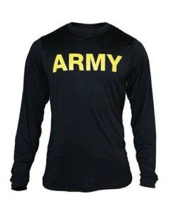 GI APFU Army PT Long Sleeve Shirt - Slight Irregular