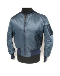US Made Navy Blue MA-1 Jacket
