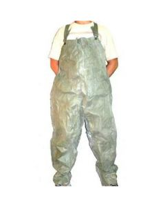 12 Pack of GI Wet Weather Overalls Size Large