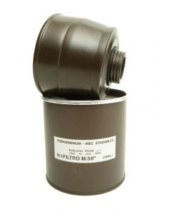 Nato NBC Gas Mask Filter In Can