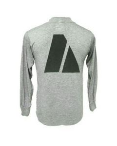 GI Long Sleeve Grey Army PT Shirt Back Printing Only