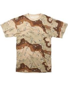 Short Sleeve 6 Color Desert T-Shirt