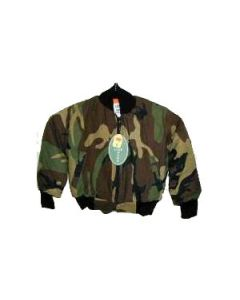 Kids Camouflage Flight Jacket