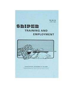 Sniper Training and Employment Manual / TC 23-14