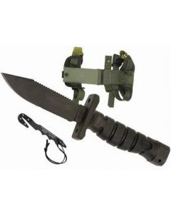 Ontario GI ASEK Survival Knife System OD Green