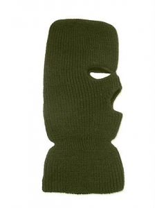 Broner 3 Hole Acrylic Face Mask Green