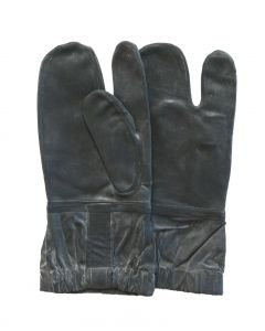6 Pack of GI Navy Rubber 3 Finger Deck Gloves