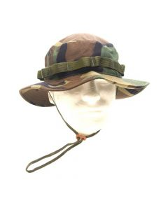 US Made Woodland NYCO Twill Boonie Hat