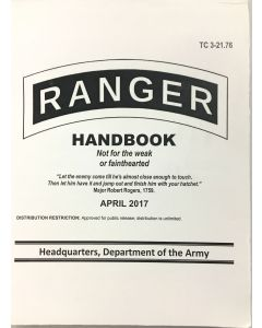 Updated GI Army Ranger Handbook Manual 2017