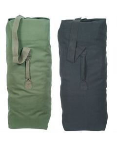 Canvas Top Load Duffle Bag