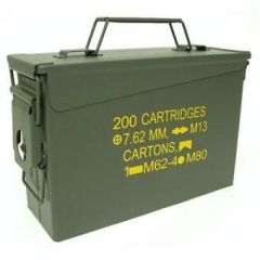 Pallet of 200 Used GI .30 Cal Ammo Cans