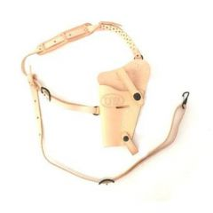 U.S. Issue M7/M9 .45 Leather Shoulder Holster Natural Tan