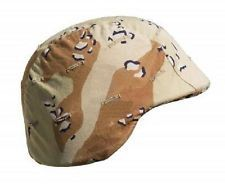 10 Pack of 6 Color Desert PASGT Kevlar Helmet Covers