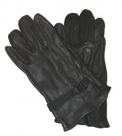 GI Black D3A Leather Gloves IRR