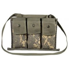 3 Pack of GI MOLLE II Bandoleer Ammunition Pouch