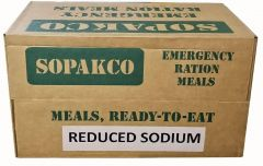 SOPAKCO MRE Emergency Ration Meals Low Sodium