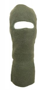 OD Green Wool Face Mask