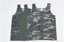 Military Style Tank Tops